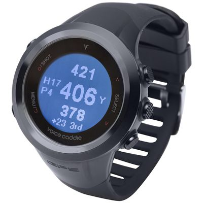Voice Caddie T2 GPS Tracker and Golf Watch