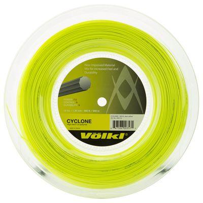 Volkl Cyclone Tennis String - 200m Reel - Yellow