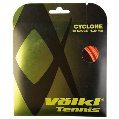 Volkl Cyclone Tennis String Set 1.20mm - Orange