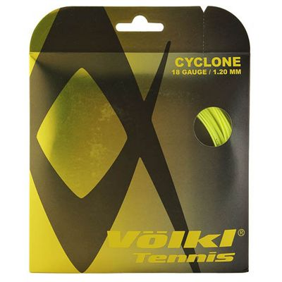 Volkl Cyclone Tennis String Set 1.20mm - Yellow