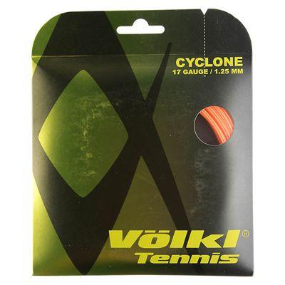 Volkl Cyclone Tennis String Set 1.25mm - Orange