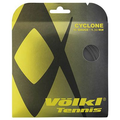 Volkl Cyclone Tennis String Set 1.30mm - Black