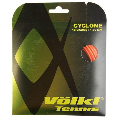 Volkl Cyclone Tennis String Set 1.30mm - Orange