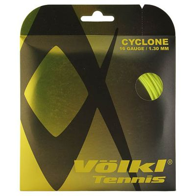 Volkl Cyclone Tennis String Set 1.30mm - Yellow