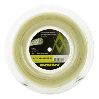 Volkl Power Fiber II Tennis String - 200m Reel - 1.3