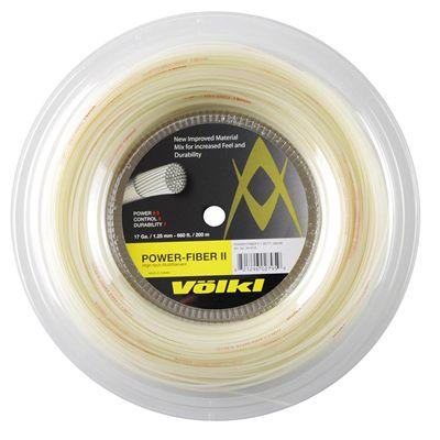 Volkl Power Fiber II Tennis String - 200m Reel - 1.25