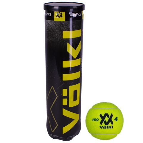 Volkl Pro Tennis Balls - Tube of 4