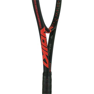Volkl Super G 10 Mid 320g Tennis Racket-Throat