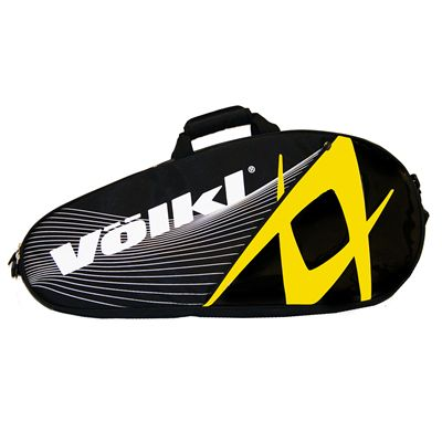 Volkl Team Pro 3 Racket Bag - Single - Yellow and Black