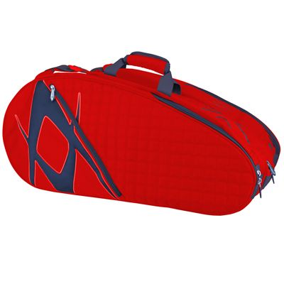 Volkl Tour Mega 9 Racket Bag - Red/Black