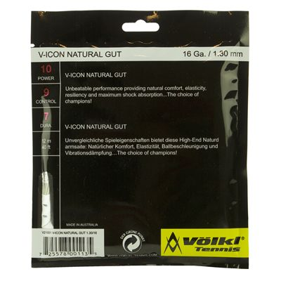 Volkl V-Icon Tennis String Set - Back