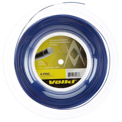Volkl V-Pro Tennis String - 200m Reel 1.23