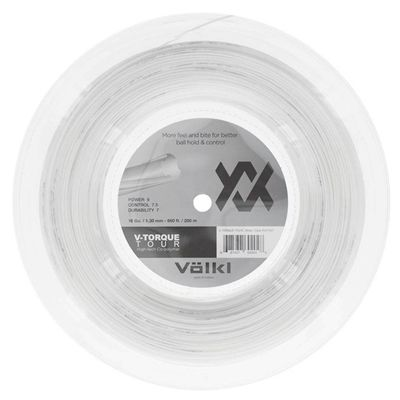 Volkl V-Torque Tour Tennis String - 200m Reel 1.30mm