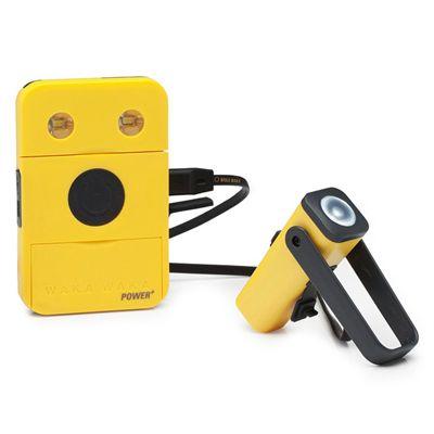 WakaWaka Power Plus Solar Powered Charger - Yellow2