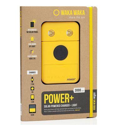 WakaWaka Power Plus Solar Powered Charger - Yellow Box