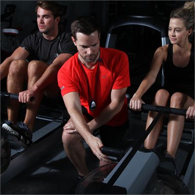 WaterRower M1 HiRise Rowing Machine - Lifestyle1