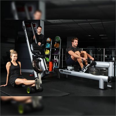 WaterRower M1 HiRise Rowing Machine - Lifestyle2