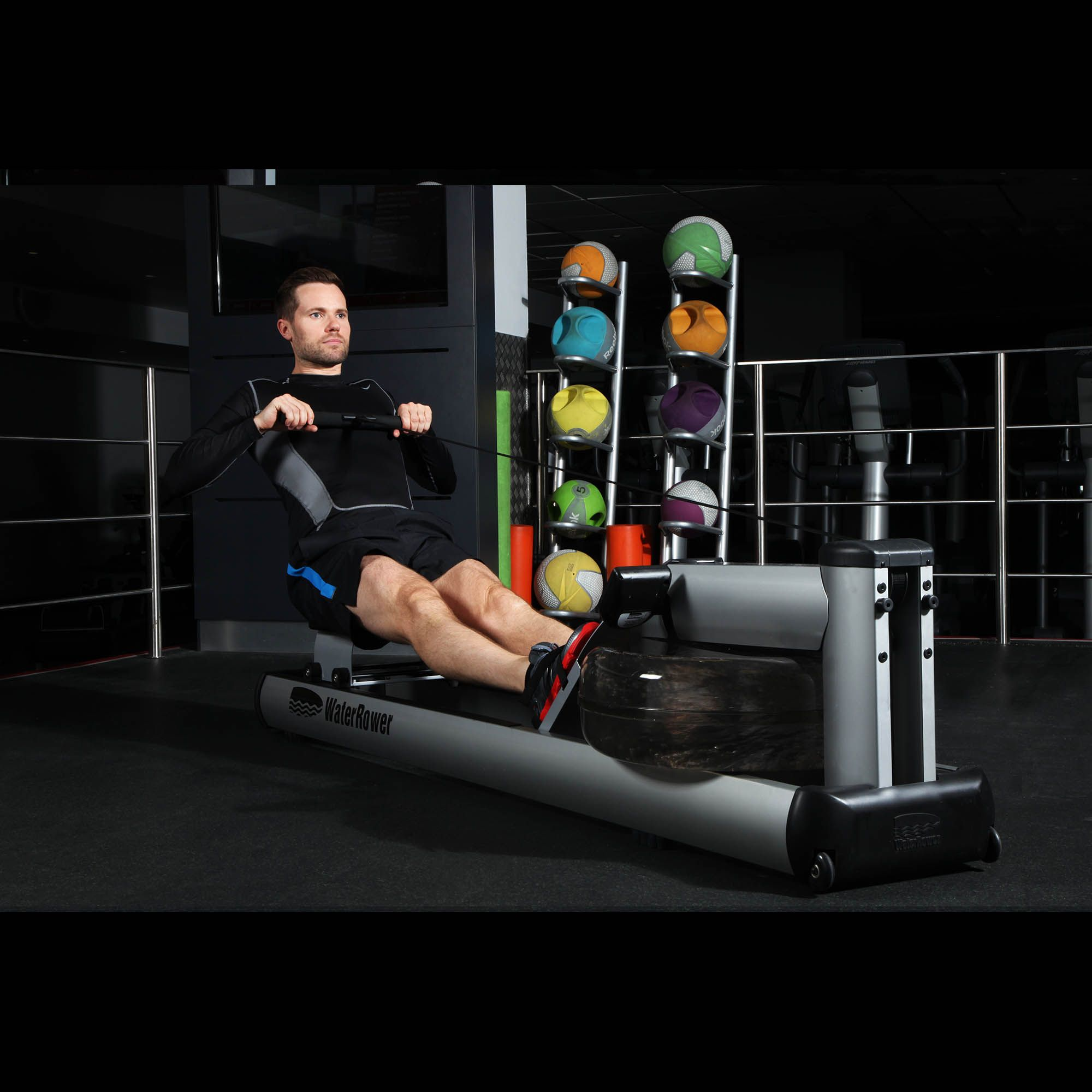 waterrower rowing machine with s4 monitor