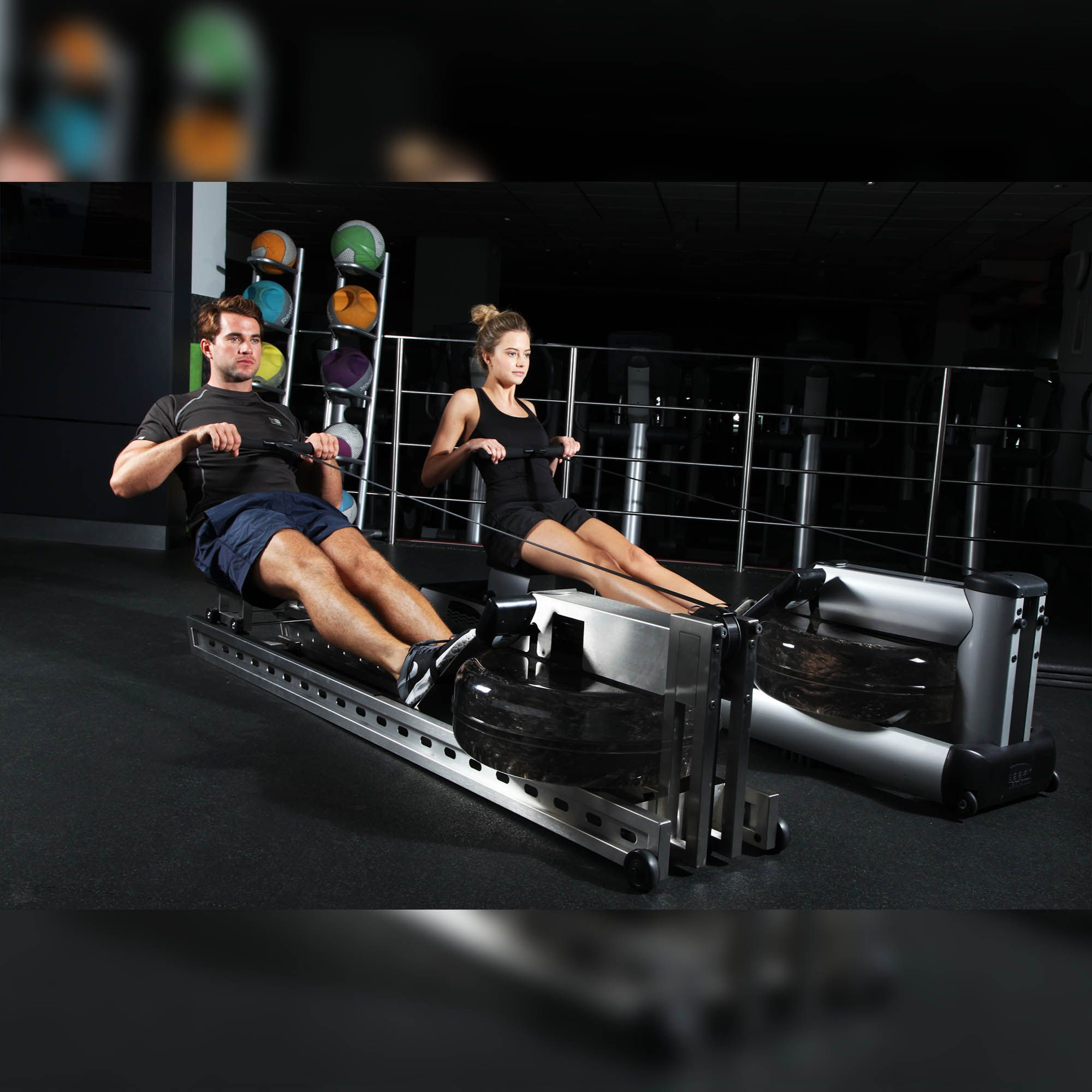 Waterrower S1 Rowing Machine With S4 Monitor