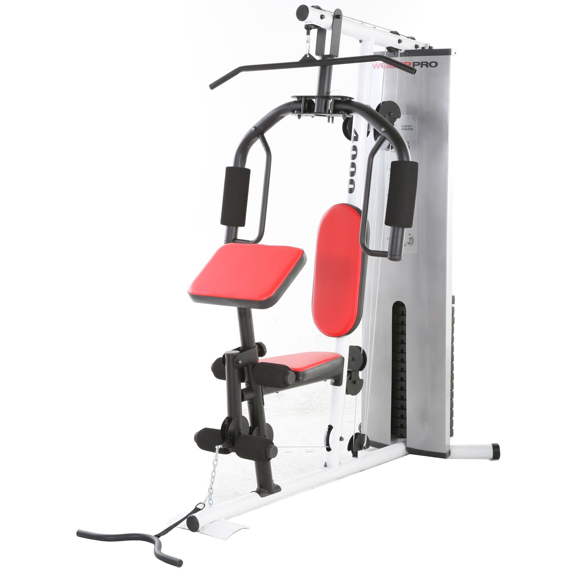 Weider Home Gym Instructions: Weider Pro 4000 Multi Gym