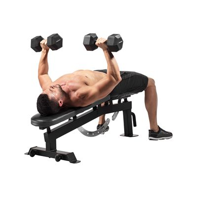 Weider Utility Bench - In  Use