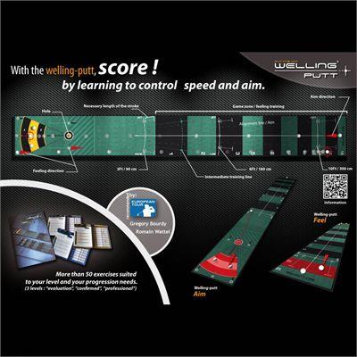 Welling Putt 3m x 50cm Pro Speed Golf Putting Mat3