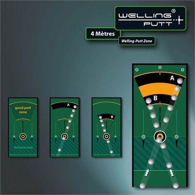 Welling Putt 3m x 50cm Standard Speed Golf Putting Mat3