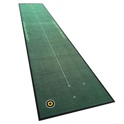 Welling Putt 5m x 95cm Ultimate Fitting Golf Putting Mat - Angled1