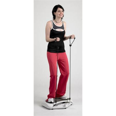Weslo Energy Slide Remote Control Vibration Trainer In Use