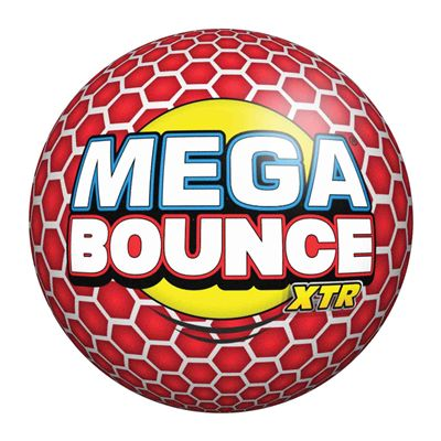 Wicked Mega Bounce XTR Ball - Red