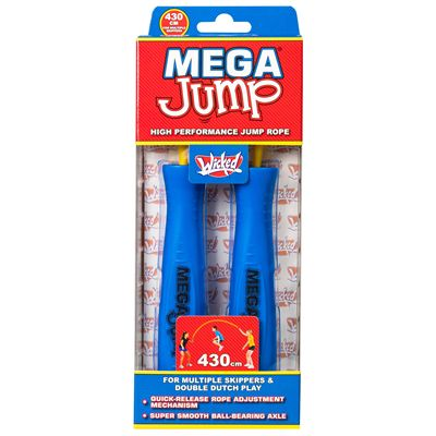 Wicked Mega Jump Double Skipping Rope - Blue - Box1