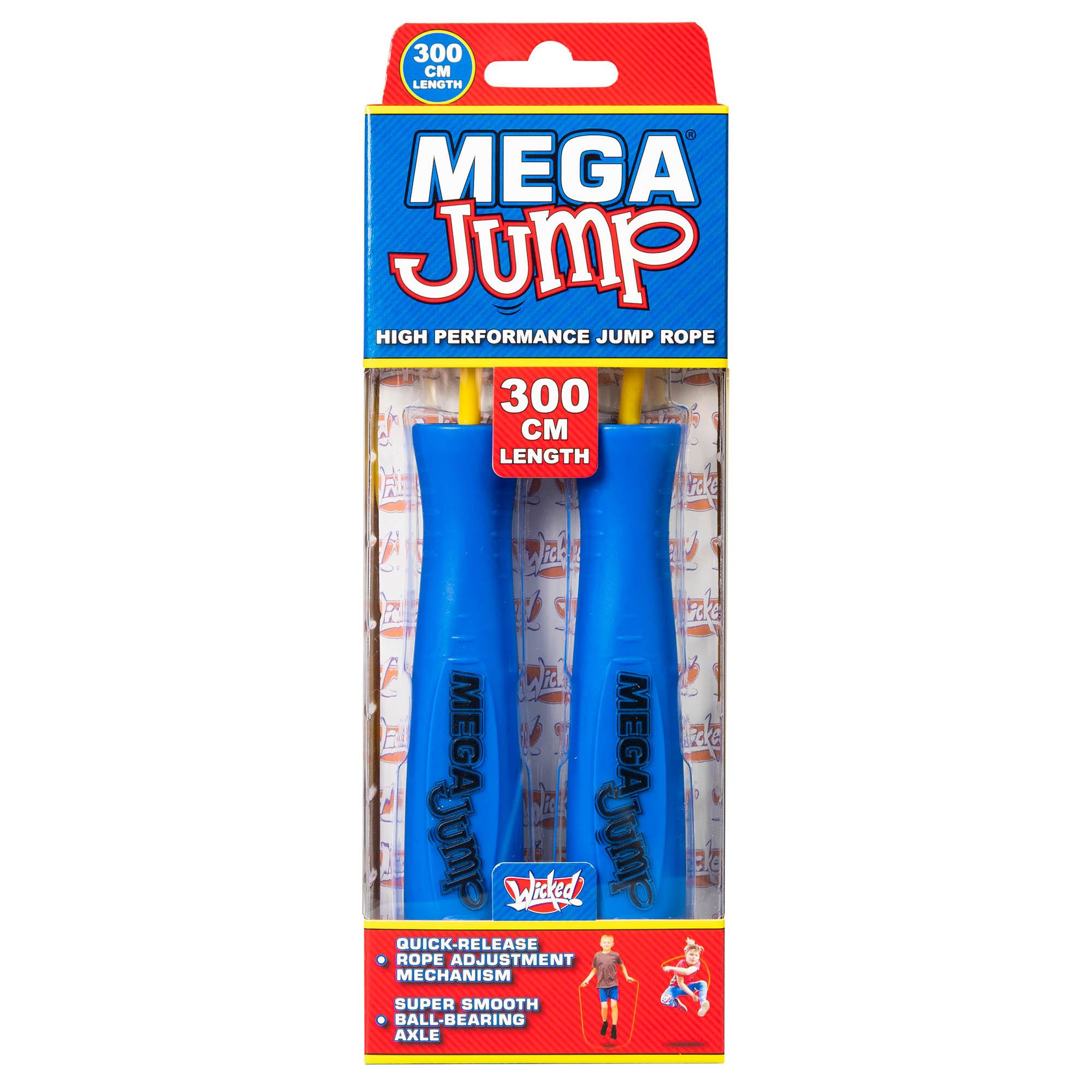 Wicked Mega Jump Single Skipping Rope - Blue