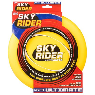 Wicked Sky Rider Ultimate Flying Disc - Yellow - Box