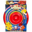 Wicked Sky Spinner Ultra LED Trick Disc - Red - Box