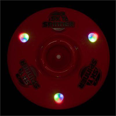 Wicked Sky Spinner Ultra LED Trick Disc - Red - Dark
