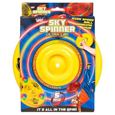 Wicked Sky Spinner Ultra LED Trick Disc - Yellow - Box