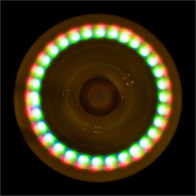 Wicked Sky Spinner Ultra LED Trick Disc - Yellow - Dark2