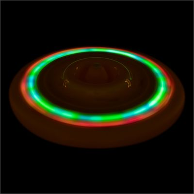 Wicked Sky Spinner Ultra LED Trick Disc - Yellow - Dark1