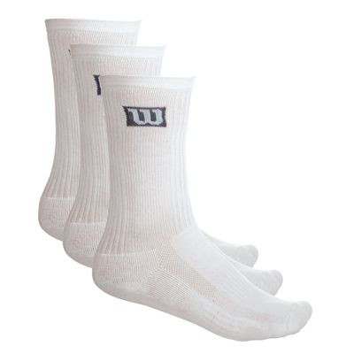 Wilson 3 Pack Soft Crew Socks f9eec00266