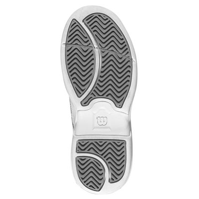 Wilson Advantage Court IV Velcro Junior Tennis Shoes Silver Sole