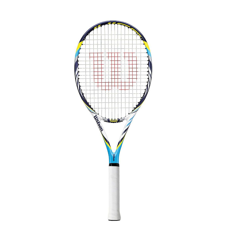Wilson Juice 100 Blx Tennis Racket Sweatband Com