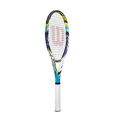 Wilson Juice 100 BLX Tennis Racket - Side View