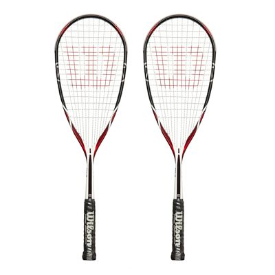 Wilson K115 Sqash Racket Double Pack