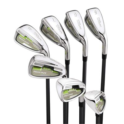 Wilson Pro Staff Ladies LCG Graphite Iron Set 4-SW