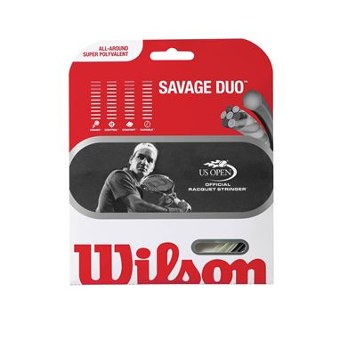 Wilson Savage Duo Hybrid Tennis String Set