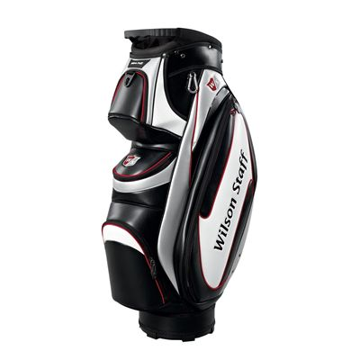 Wilson Staff Performance Cart Bag Black White