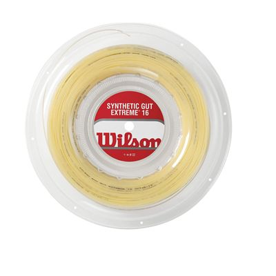 Wilson Synthetic Gut Extreme16 Tennis String 200m Reel
