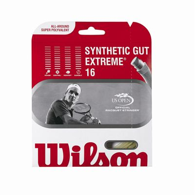Wilson Synthetic Gut Extreme16 Tennis String Set