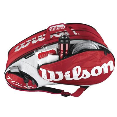 Wilson Tour 12 Pack Racket Bag - Accessory Pocket