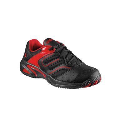 wilson tour construkt junior tennis shoes sweatband